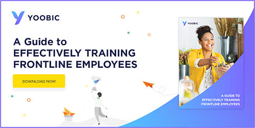 Ebook Download - A Guide to Effectively Training Frontline Employees