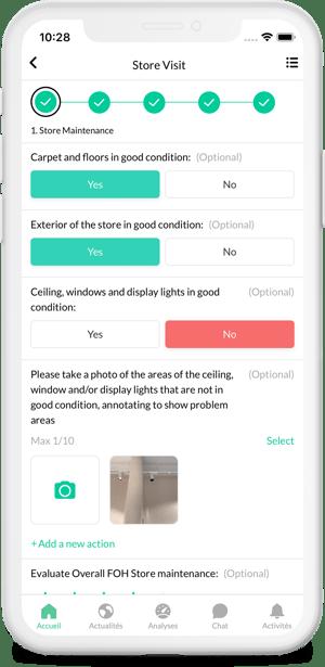 Remote store visit tool YOOBIC
