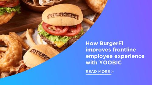 BurgerFi YOOBIC success story