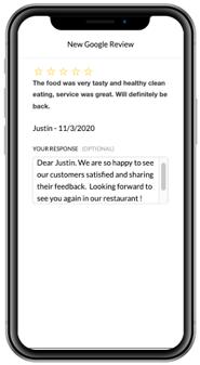 Reputation Dashboard Reply